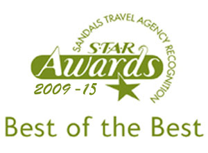 Sandals Best of The Best Award Winners 2009-2014